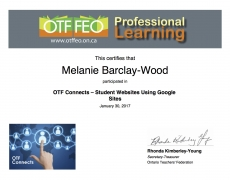 Ontario Teachers' Federation Webinars